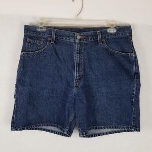 Levi's 550 Denim Shorts Womens Sz 18